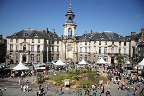 Place de la mairie vue générale | by Chambre Agriculture Ille-et-Vilaine