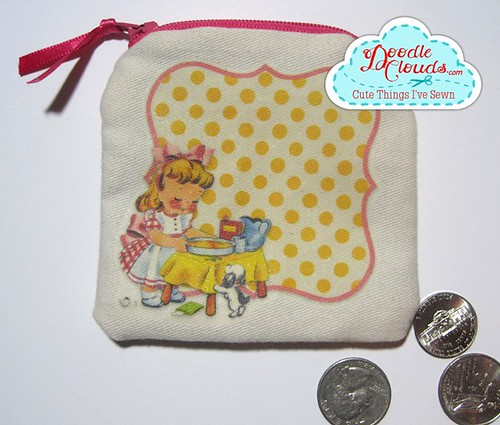 Vintage clipart coin purse