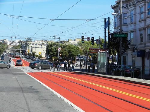 Church Street Painted Transit Lane | by transbay