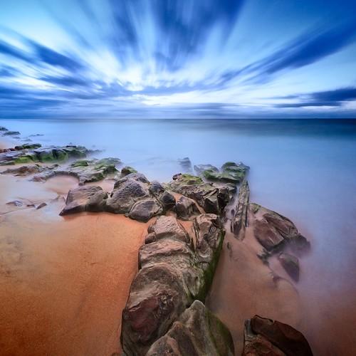 ocean longexposure beach water rocks surf nd barbeach nd110