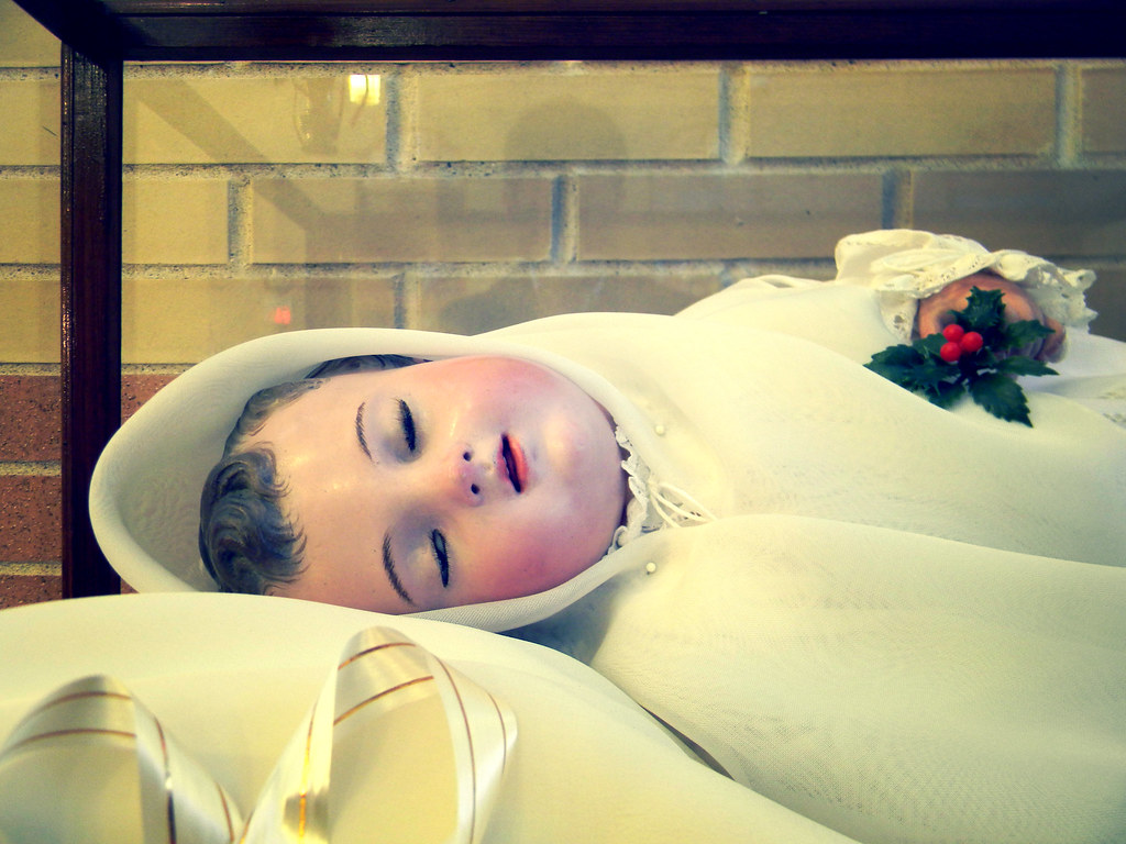 The Miraculous Infant Founder, detail | Discalced Carmelite