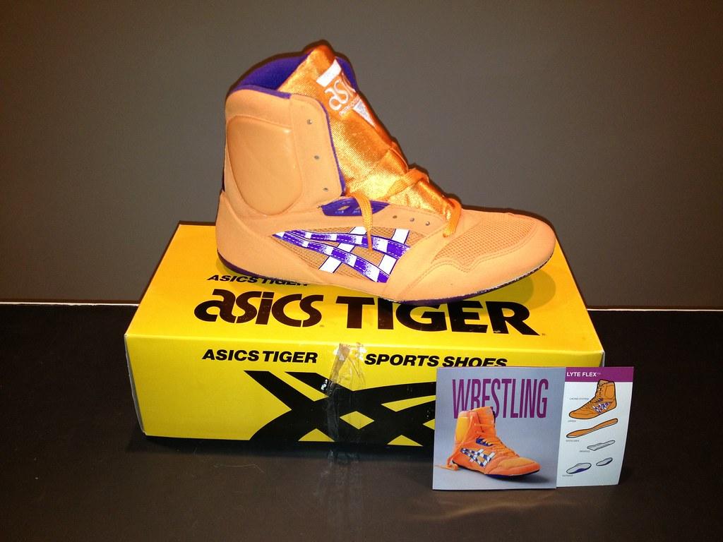 Asics Lyte Flex Wrestling Shoes GONE Storlek 10,5 BNIB GONE  Size 10.5 BNIB GONE