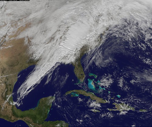 Satellite Image Shows Eastern U.S. Severe Weather System