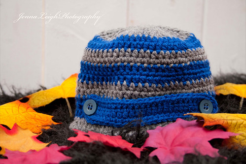 crochet baby boy newsboy hat | by Drikka Glaser