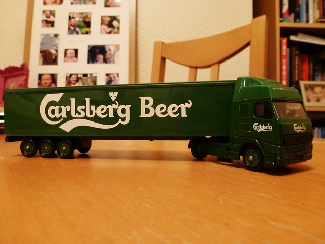 Probably the best model lorry in the world....