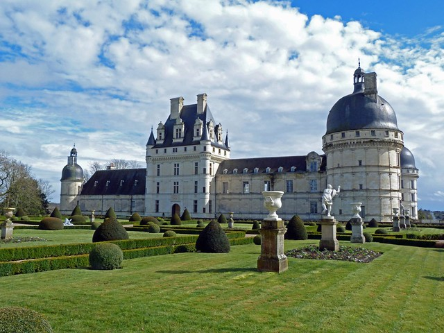 Castillo de Valençay (Castillos del Loira, Francia)