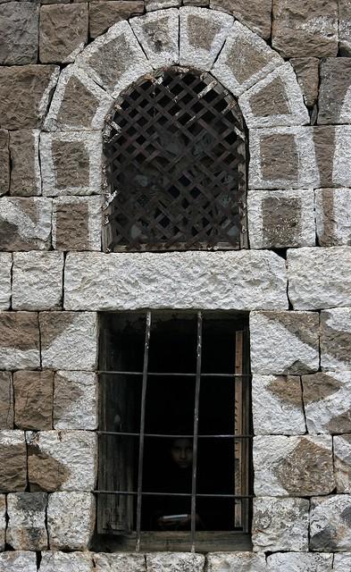 Yemen: la solitude (architecture du djebel Haraz.)