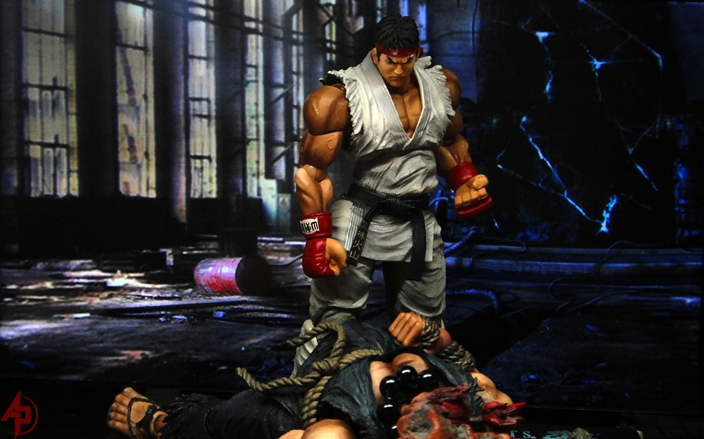 Ryu Vs Akuma Where To Get The Latest Action Figures And C
