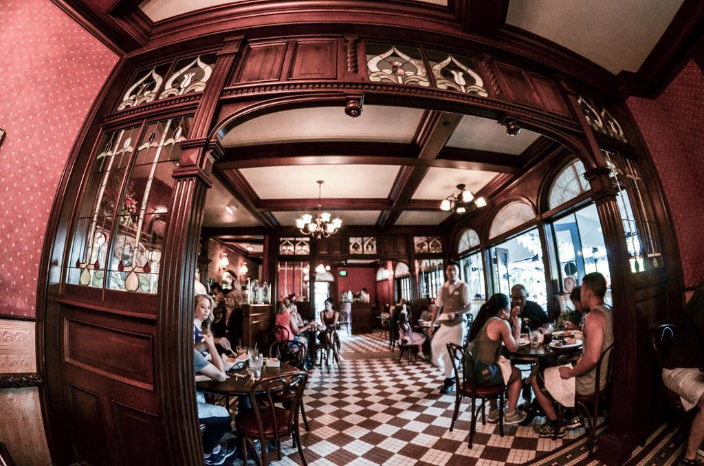 Cafe Orleans inside