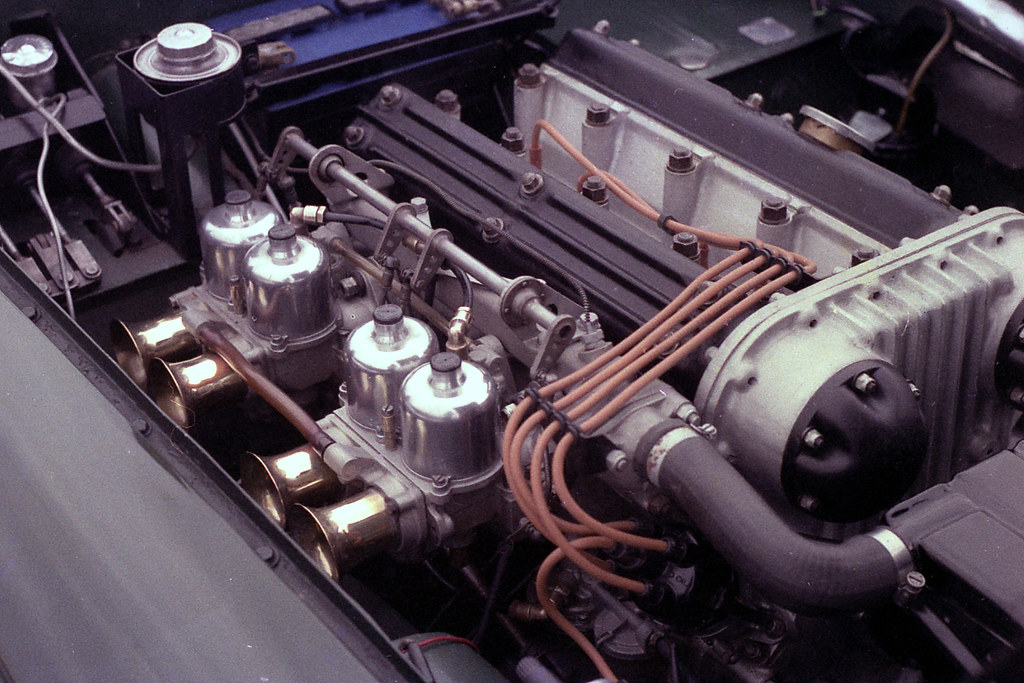Triumph TRS engine | This is the real thing - not a replica … | Flickr