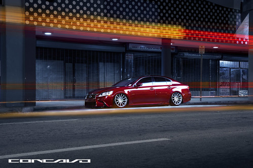 2013 LEXUS GS FSPORT ON CONCAVO CW-12 | by Concavo Wheels