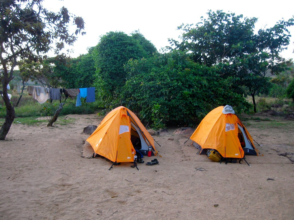Our tents at Kukenan camp