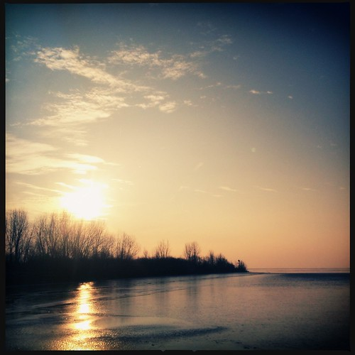 morning winter sunlight ice sunrise foxy dc lakeerie michigan greatlakes iphone vanessaray hipstamatic instagram uploaded:by=flickrmobile flickriosapp:filter=nofilter