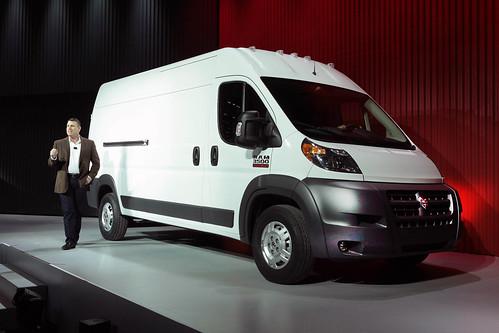 2014 Ram ProMaster Commercial Van World Debut Photo