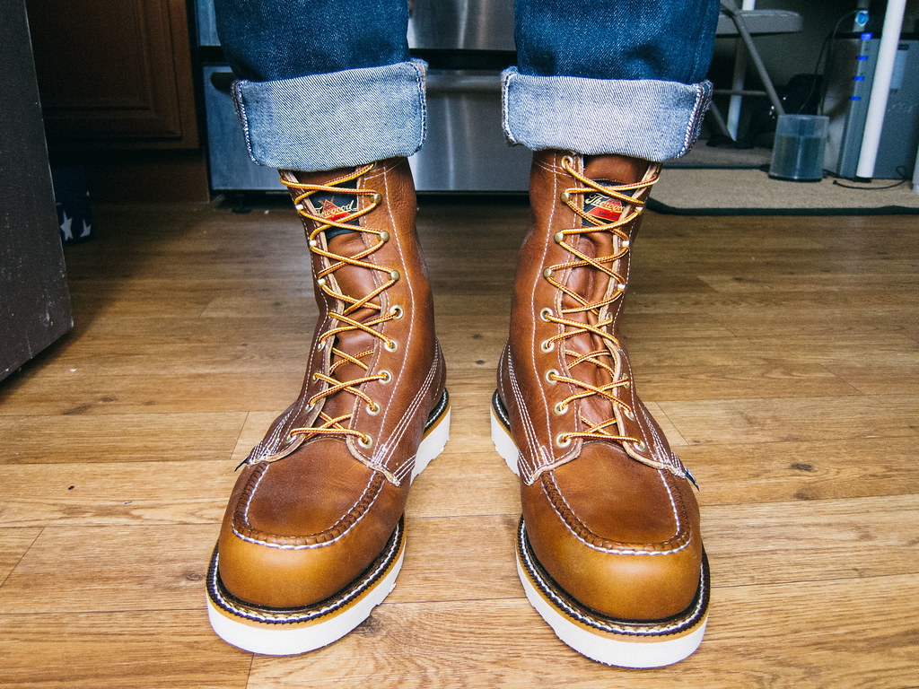 972fa6810ef Thorogood-8-Moc-Toe-Boots-4 | Sherman Lee | Flickr