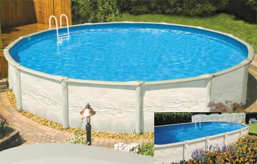 Discovery LX Resin Above Ground Pools | Above ground pools l ...