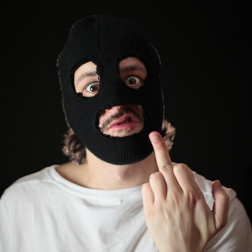 Day 51 of 365: confused gangster | by Arek Olek
