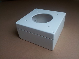 Speaker box painted white | by lilspikey