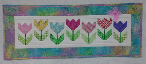 Tulips Project Quilting End of Season 4 | by The Thimblemouse