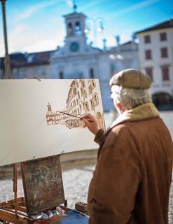 The painter | by Giulio Magnifico