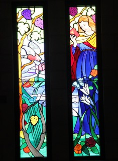 Trinity College Stained Glass Windows bottom | by Gawler History