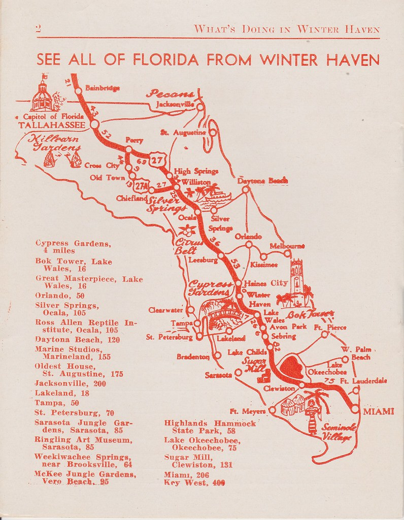 Winter Haven Florida map | See all of Florida from Winter Ha ...