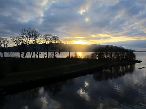 sunset dusk garrison leitrim fermanagh loughmelvin irishborder northernirelandborder arroo roogaghriver