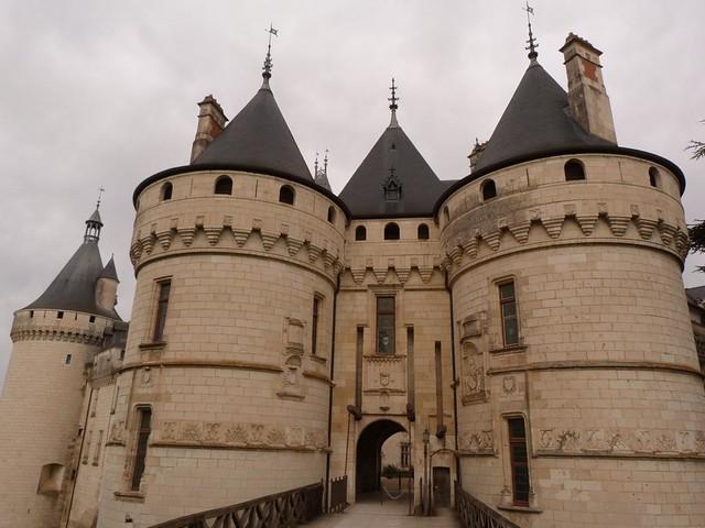 Castillo de Chaumont (Ruta de los castillos del Loira, Francia)