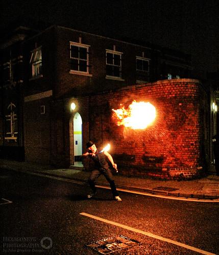 Fire Breathing - Albert Road | by Hexagoneye Photography