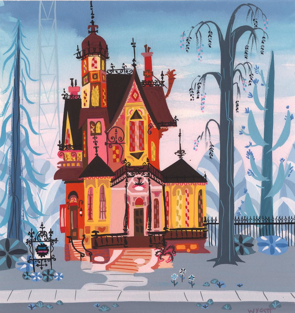 Fosters Home For Imaginary foster's exterior | foster's home for imaginary friends cart
