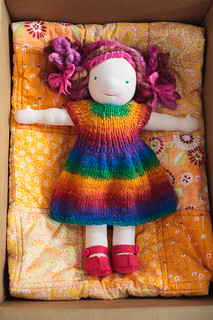 Mommy made waldorf inspired doll. | by Fluttering By