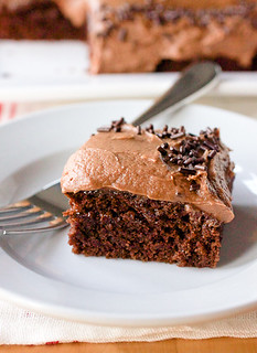 No-Bowl Double Mocha Snack Cake | by Smells Like Home