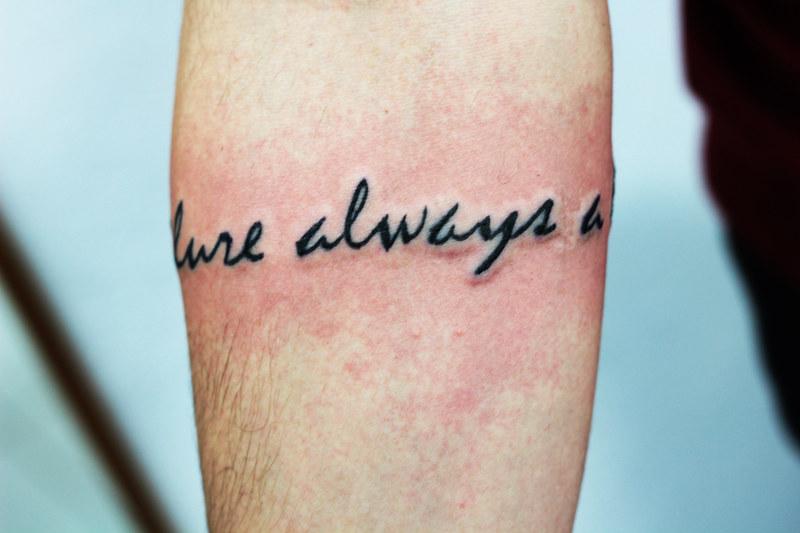 Tattoo Frase Tatuagem Frase No Braço Por Veronicka Ribei