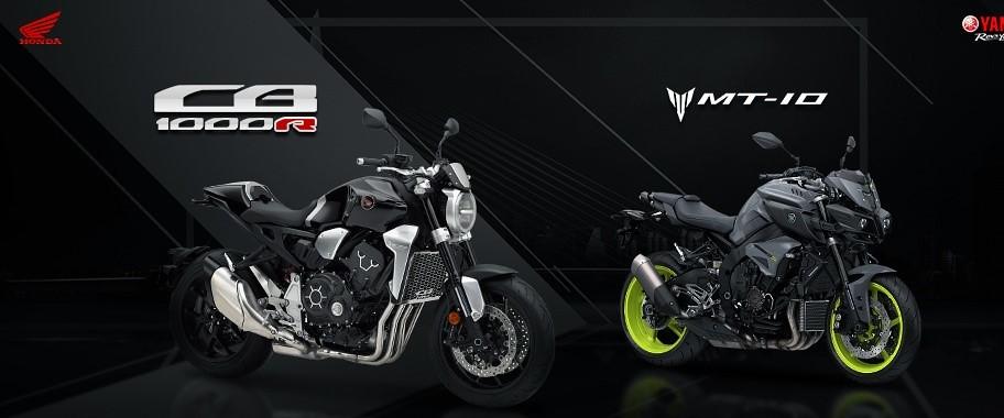 Honda CB1000R vs. Yamaha MT-10