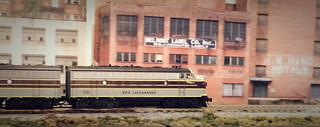 Erie Lackawanna rolls through Flatsburg