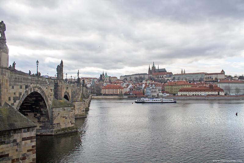 Il Castello visto da Ponte Carlo, film girati a Praga