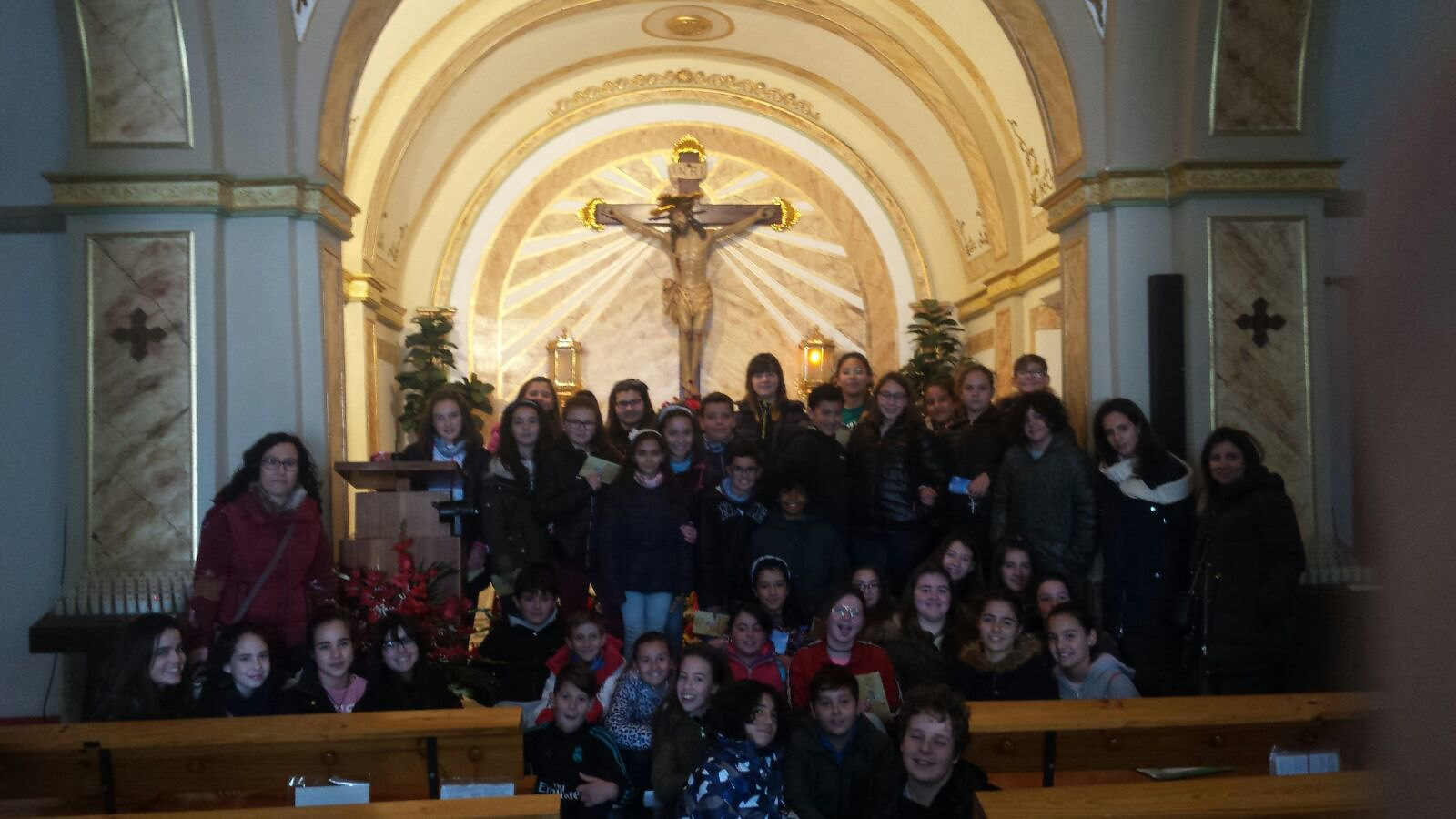 (2018-03-19) - Visita ermita alumnos Yolada-Pilar,6º, Virrey Poveda-9 de Octubre - Maria Isabel Berenquer Brotons - (02)