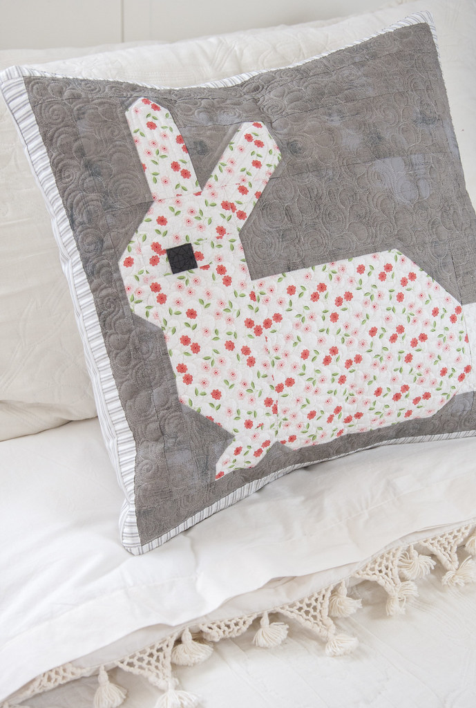 Little Cottontail pillow