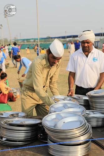 Sewa Dal Devotees on Duty