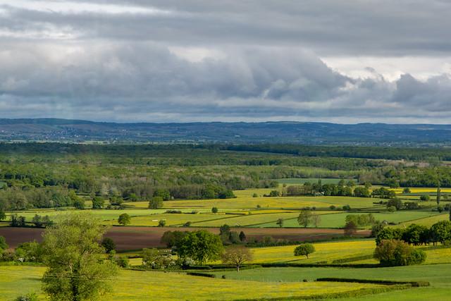 Spring in the Burgundy Region of France