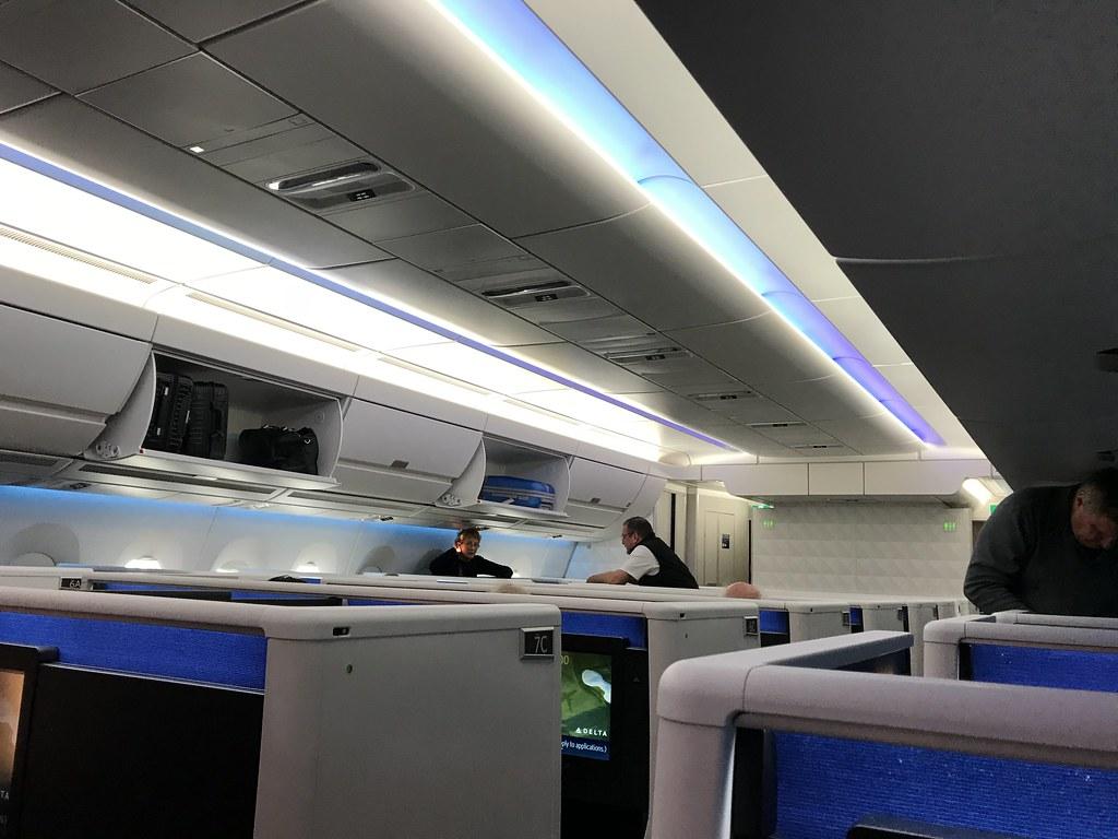 Delta One Suite - A350  DTW PEK | John Denman | Flickr