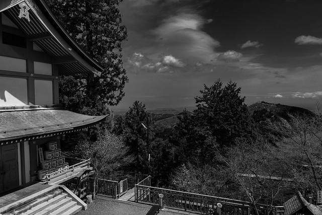 View from Mitake jinja