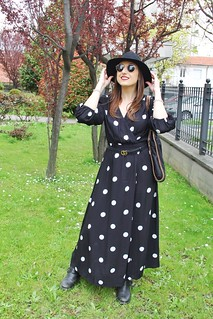 Pollo dots dress abito a pois trend di primavera | by sissa.tarta