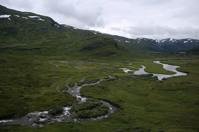 View from the Bergen Railway