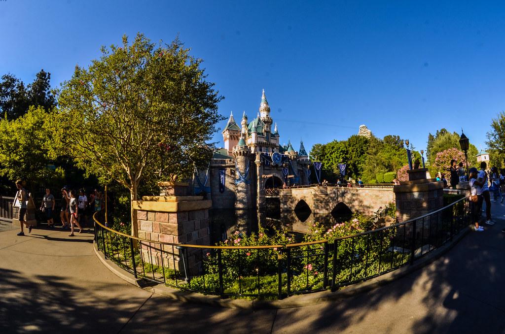 Castle daytime fisheye