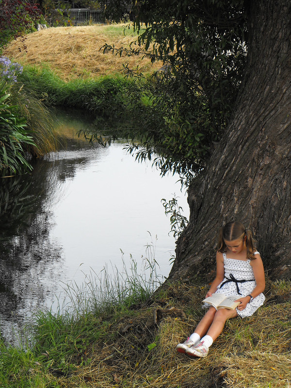 Hannah - 2nd prize in the Summertime Reading Club photo competition