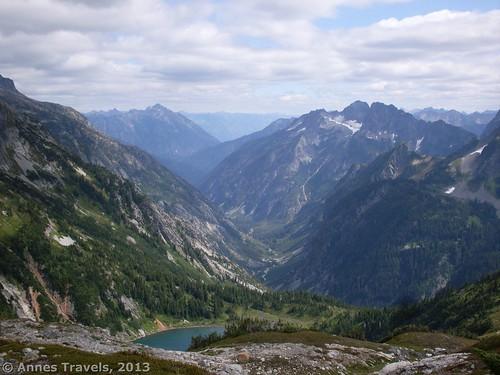 Views from Sahale Arm in North Cascades National Park, Washington