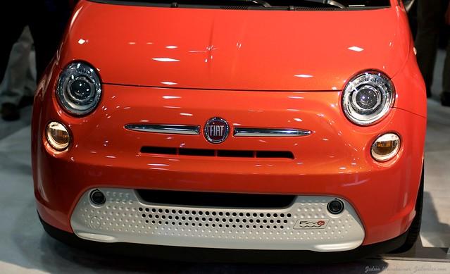2013 Washington Auto Show - Upper Concourse - Fiat 6