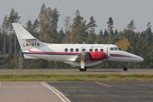 Jetstream LN-HTB @ Gothenburg Landvetter | by Axel Björk
