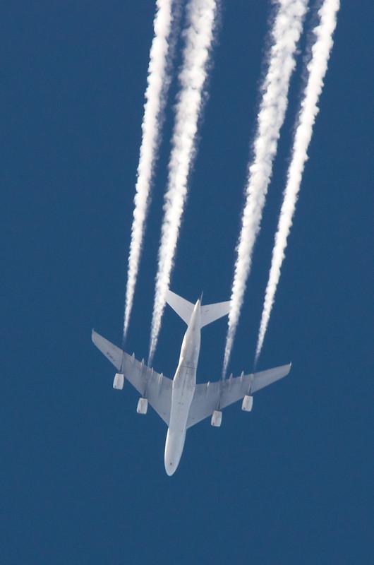 Airbus A380-861 F-HPJD Air France Flight AF276